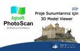 Agisoft Photoscan 3d model viewer
