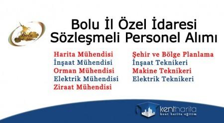 Bolu il özel idaresi sözleşmeli personel alımı