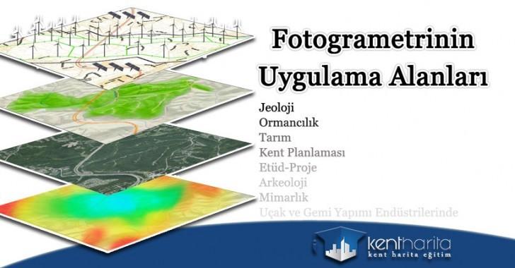 Fotogrametrinin uygulama alanları nelerdir