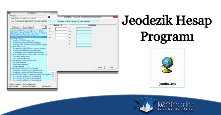 jeodezik hesap programı