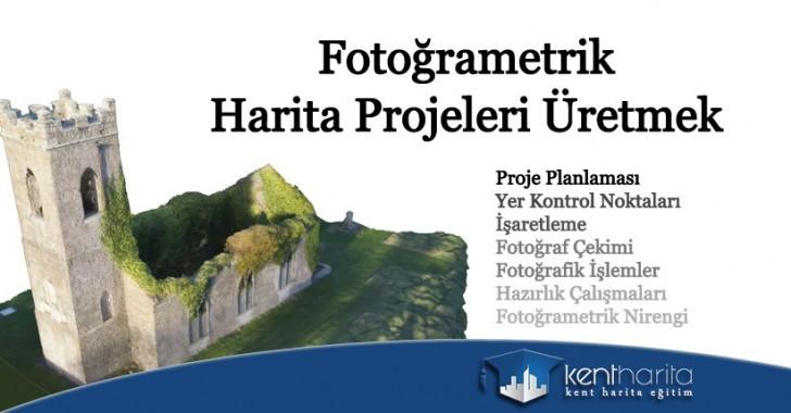Fotoğrametrik harita projeleri üretmek