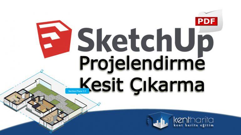 Sketchup projelendirme dwg